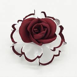 Бант школьный роза