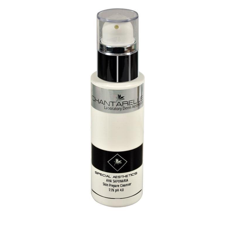Очищающий гель с АХА кислотами 11 % Aha Sasponaria Skin Prepare Cleanser 11 % pH 4.0 100 ml Chantarelle