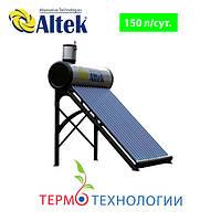 Altek сезонный солнечный коллектор SP-CL-15. Бак из нерж. стали 150 л. Безнапорный, фото 1