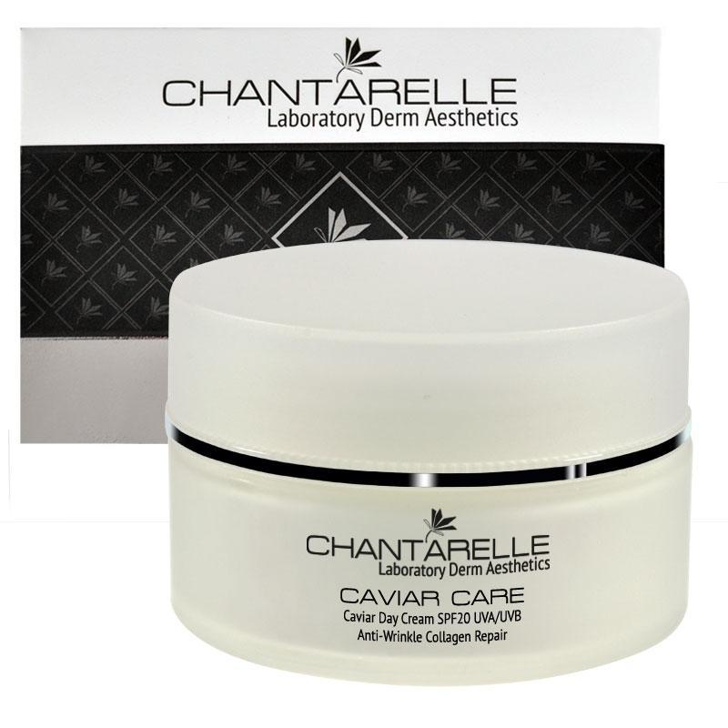 Омолаживающий крем с пептидами с вытяжкой из икры Caviar DayCream SPF20 100 ml Chantarelle