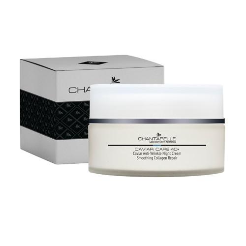 Икорный омолаживающий пептидный ночной крем Caviar Anti-Wrinkle Night Cream 100 ml Chantarelle