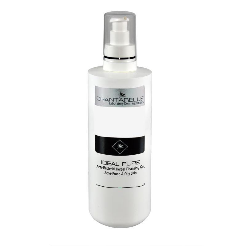 Гель очищающий для умывания антибактериальный  травяной Anti-Bacterial Herbal Cleansing Gel 200 ml Chantarelle