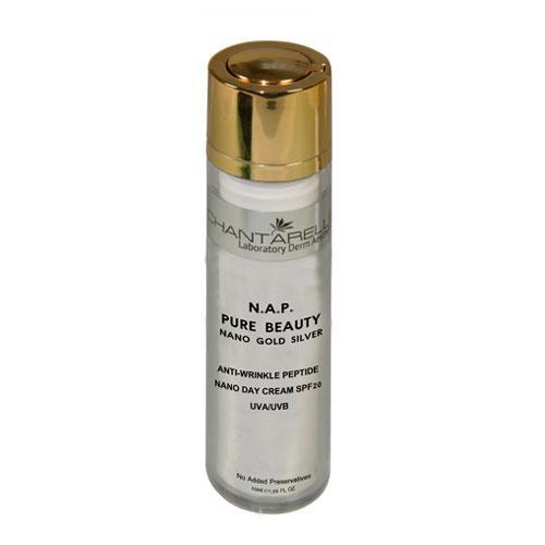 Омолаживающий антиоксидантный крем  для лица Nano Day Cream Anti- Wrinkle Peptide SPF20 UVA/UVB Chantarelle