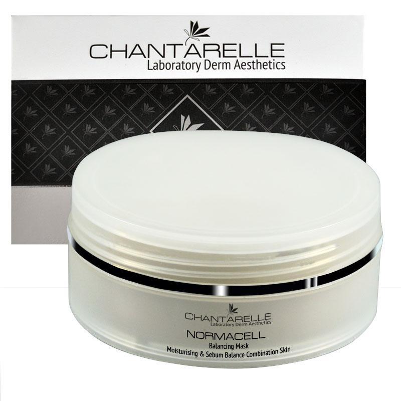 Увлажняющая  успокаивающая маска для комбинированной кожи Balancing Mask 150 ml Chantarelle