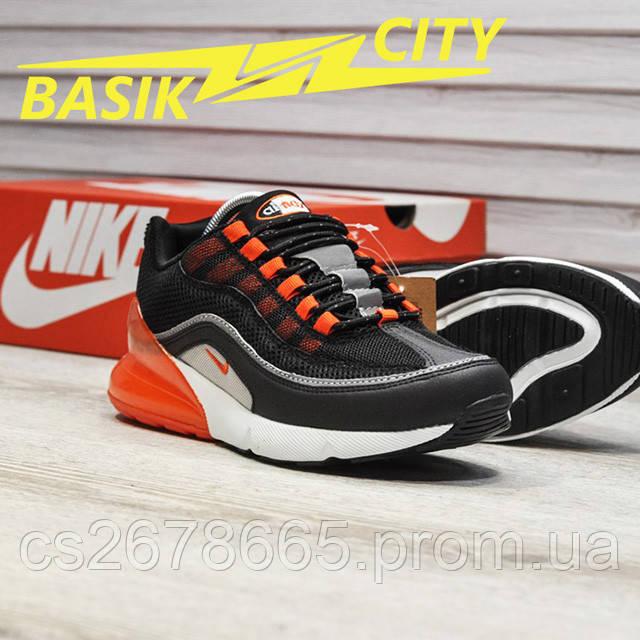 Мужские кроссовки Nike Air Max Hybrid 270/97 Black Gray изображение описания