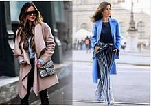 Модные женские пальто весна-осень 2019