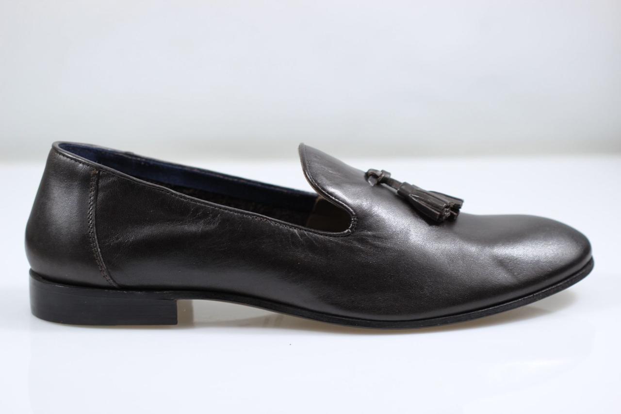 e0139a21b Мужские туфли лоферы Baldinini 4831M 43р 29 см коричневые 4831 - Интернет  магазин товаров из Италии