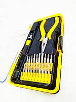 Набор отверток и инструментов для ремонта телефонов MasterTool 23 элемента (40-0166)