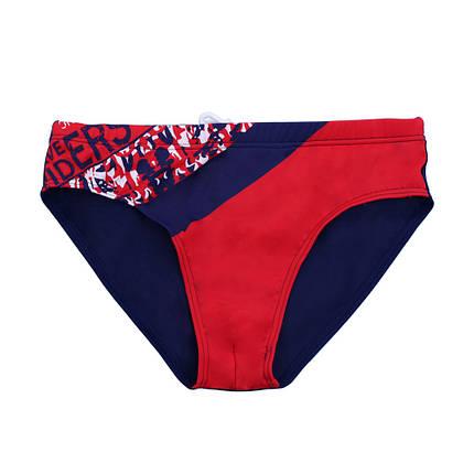 Детские плавки для мальчика Teres 3301 Темно-синий + красный, фото 2