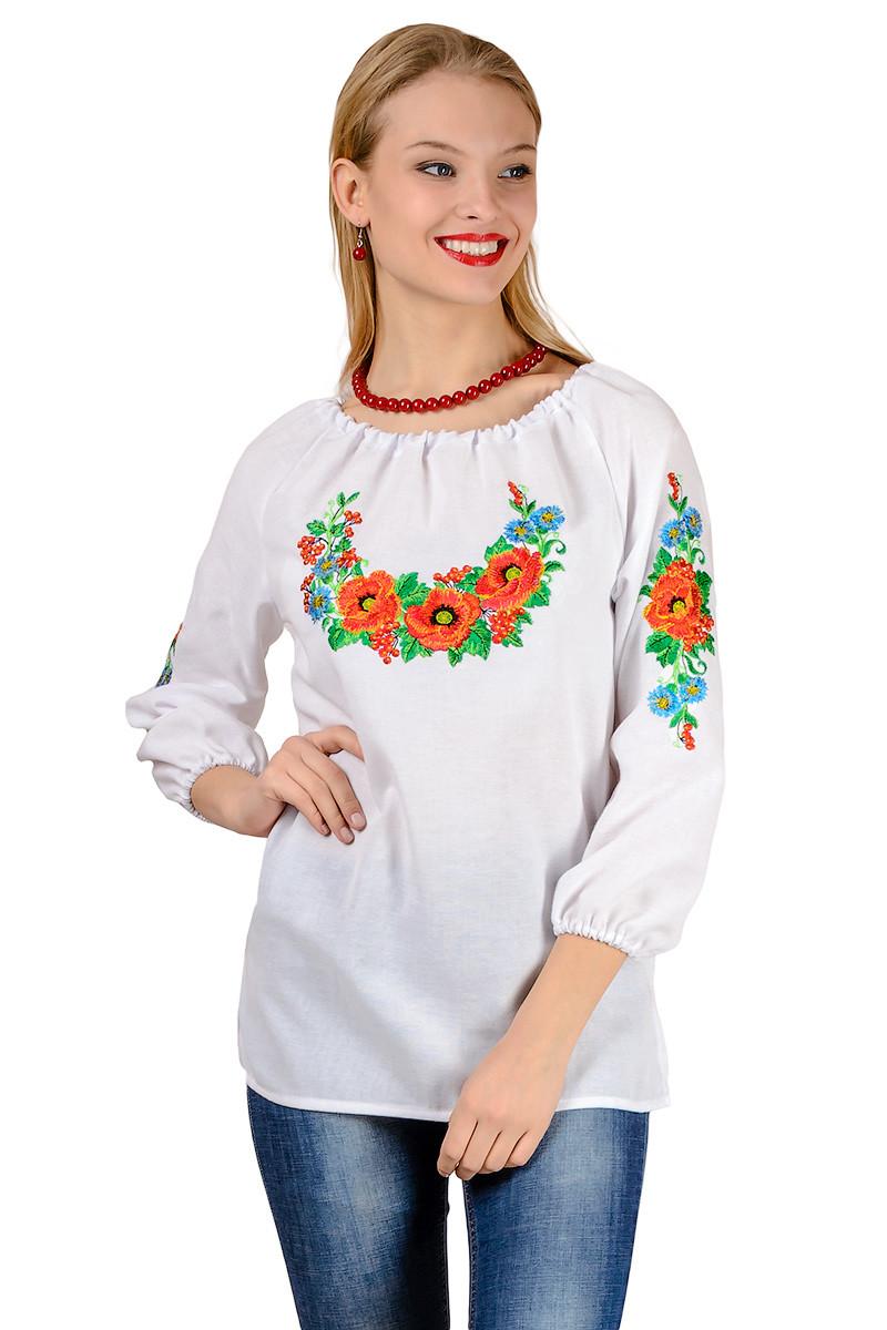 Женская вышиванка Калина