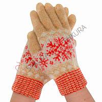 Женские зимние перчатки 12
