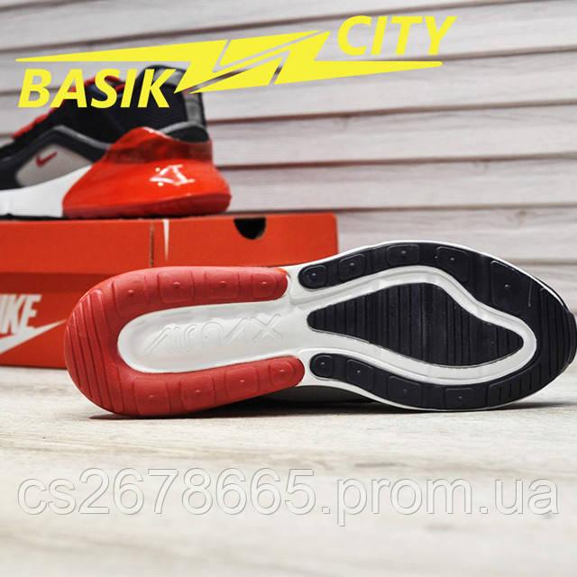 Мужские кроссовки Nike Air Max Hybrid 270-97 Deep Blue фото описания 4