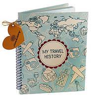 Альбом HOME HISTORY для мандрівок Travel History (UA) bordo