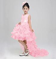 Платье сиреневое бальное выпускное нарядное для девочки в садик или школу, фото 1