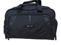 Сумка дорожная, спортивная черная Refiand 88109, 40,5 литров, текстиль