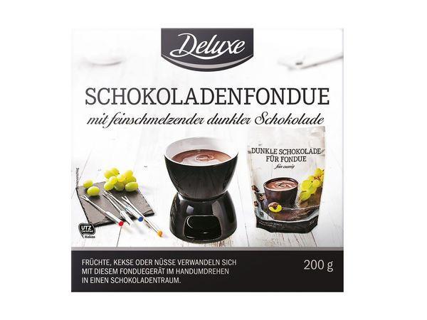 Шоколадное фондю Deluxe