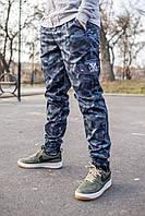 "Штаны с карманами карго беркут, штаны Cargo ""REXTIM"" Criminal dark blue camo"