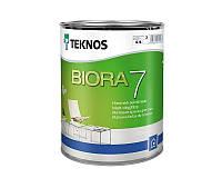 Водорозчинна фарба для стін та стелі Teknos Biora 7, 0.9 л