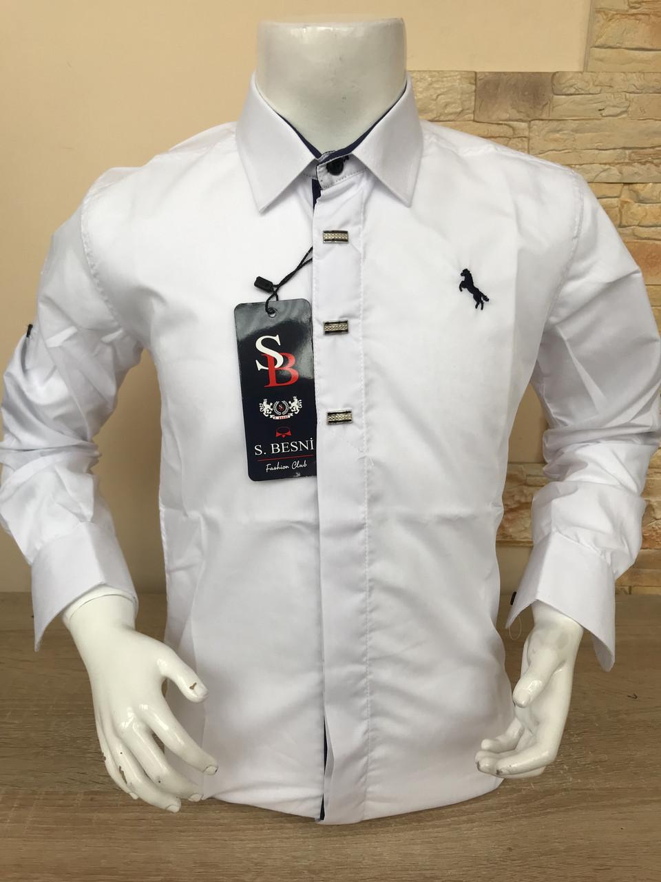 Детская белая  рубашка Sinyor Besni 5-8