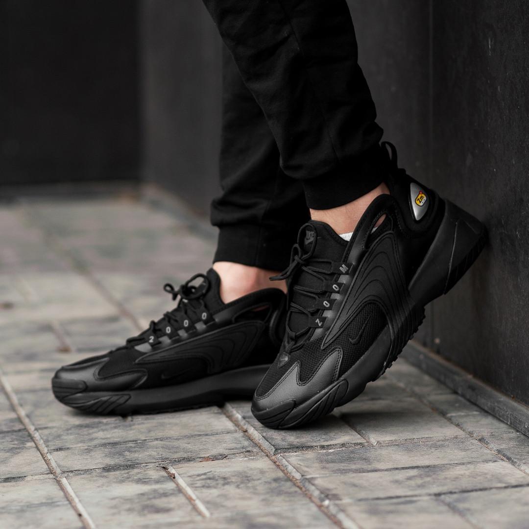 Мужские кроссовки в стиле Nike Zoom 2k Black (Реплика ААА+)