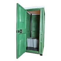 Туалетная кабина Toypek зеленая, фото 3