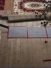 Монтаж теплої підлоги у церкві с.Ясеновець (Рожнятівський  р-н) 12