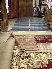 Монтаж теплої підлоги у церкві с.Ясеновець (Рожнятівський  р-н) 4