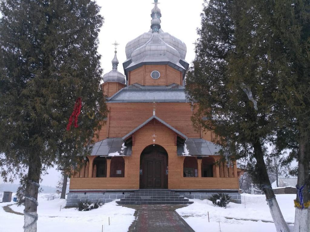 Монтаж теплої підлоги у церкві с.Ясеновець (Рожнятівський  р-н)