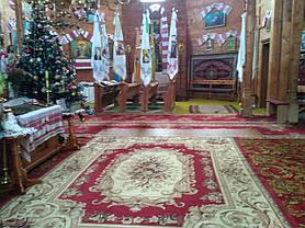 Монтаж теплої підлоги у церкві с.Ясеновець (Рожнятівський  р-н) 16