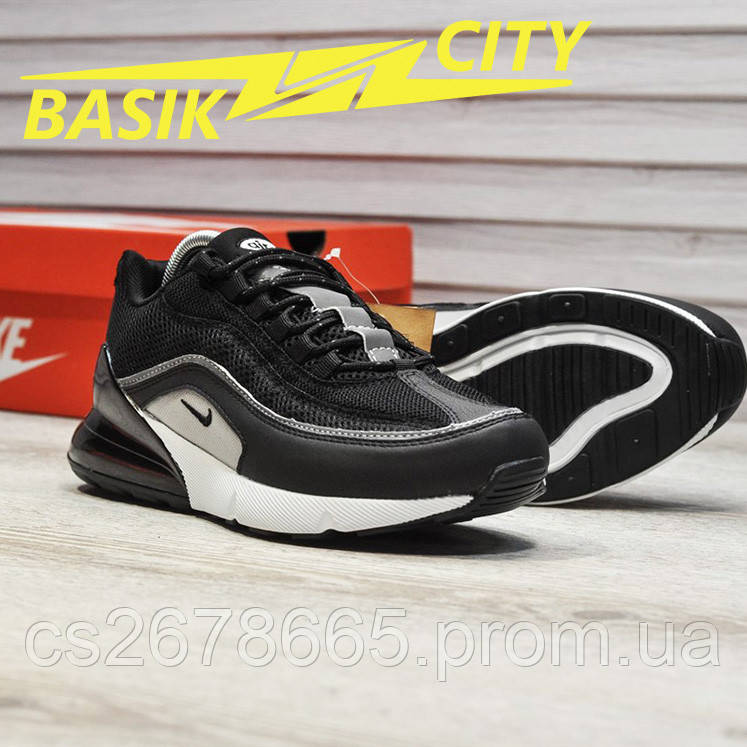Мужские кроссовки Nike Air Max Hybrid 270/97 Black