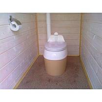 Туалет торфяной PITECO 506, фото 3
