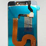 Модуль (сенсор+дисплей) для Leeco le Cool 1 Coolpad C103 C106 R116 Чорний з дефектом, фото 2