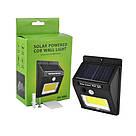 Настенный уличный светильник SH-1605-COB, 1x18650, PIR, CDS, солнечная батарея, фото 2