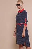 Платье - халат в горошек, фото 1