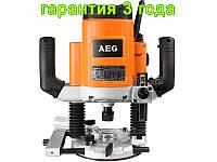 Ручной фрезер по дереву AEG OF 2050 E цанга 6,8,12 мм