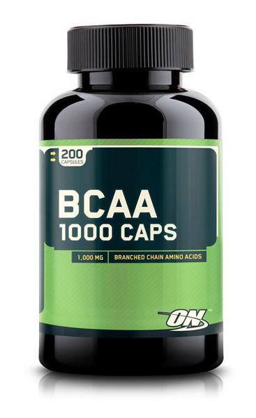 Аминокислота Optimum Nutrition BCAA 1000 200 капсул
