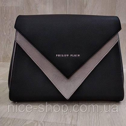 Сумка Philipp Plein черная, фото 3