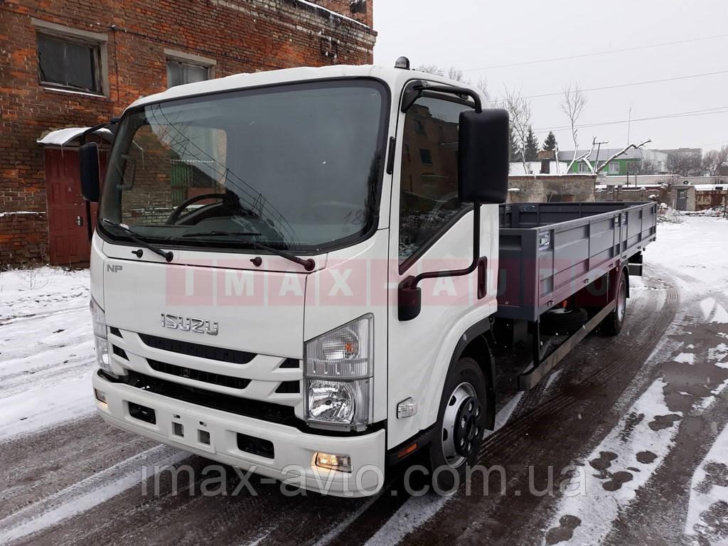 Автомобиль грузовой ISUZU NPR 75L-K с бортовой платформой