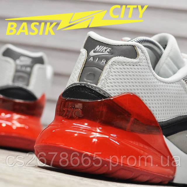 Мужские кроссовки Nike Air Max Hybrid 270-97 White Red фото описания 3