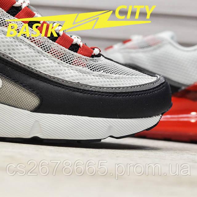 Мужские кроссовки Nike Air Max Hybrid 270-97 White Red фото описания 5