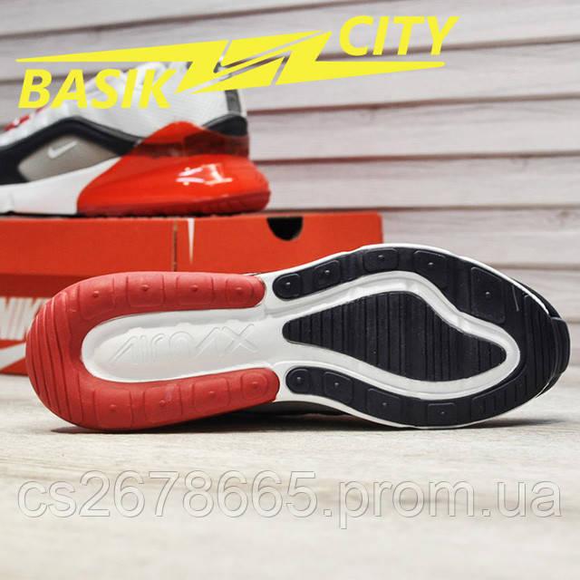 Мужские кроссовки Nike Air Max Hybrid 270-97 White Red фото описания 7