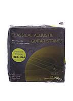 L7-280081, Струны для классической гитары(набор), , серый-салатовый