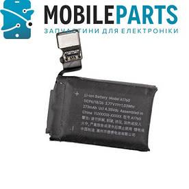 Оригинальный Аккумулятор АКБ для умных часов Apple Watch 2nd (A1760), 38mm, (Li-ion 3.77V 273mAh), Sony
