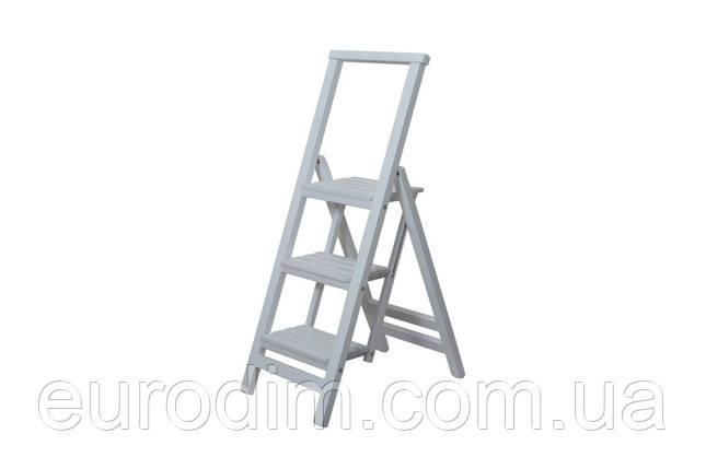 Лестница большая  белая, фото 2