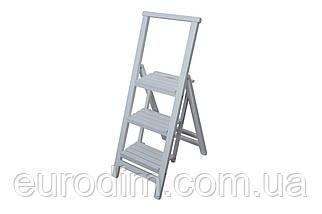 Лестница большая  белая, фото 3
