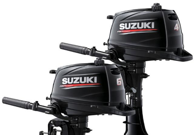 Подвесные двигатели SUZUKI