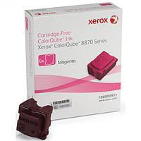 Xerox Брикет твердочернильный (108R00959) Magenta (Красный)
