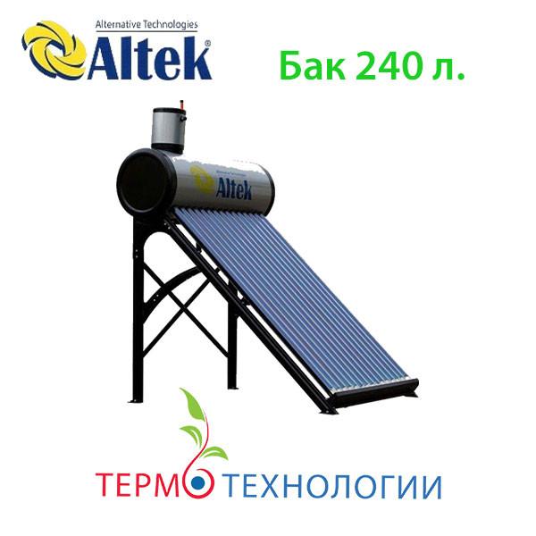 Солнечный коллектор Altek. Напорная термосифонная система  SP-H1-24