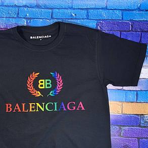 Balenciaga футболка черная • Бирки ориг, фото 2