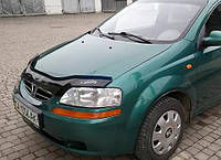 Дефлектор капота (мухобойка) Chevrolet Aveo 2003-2006 T200 (sedan); 2003-2008 (hatchback), Vip Tuning, CH01